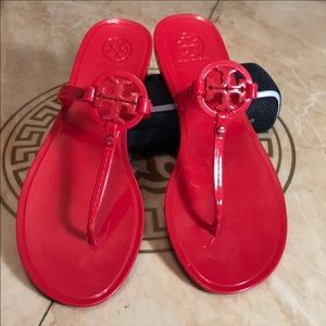 Tory Burch red sandal